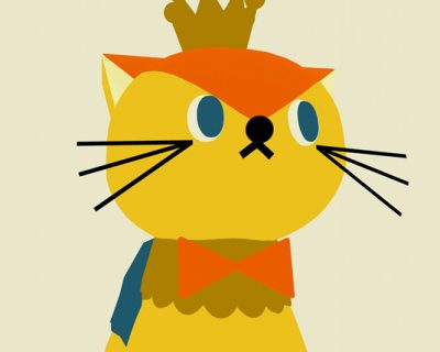 The Prince of Cat(3DCG)