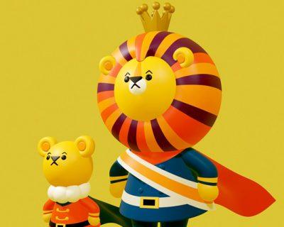 King Lion(3DCG)
